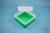 EPPi® Box 102 / 1x1 ohne Facheinteilung, grün, Höhe 102 mm fix, ohne...