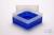 EPPi® Box 102 / 1x1 ohne Facheinteilung, neon-blau, Höhe 102 mm fix, ohne...