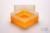 EPPi® Box 102 / 1x1 ohne Facheinteilung, neon-orange, Höhe 102 mm fix, ohne...