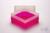 EPPi® Box 102 / 1x1 ohne Facheinteilung, neon-rot/pink, Höhe 102 mm fix, ohne...