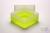 EPPi® Box 102 / 1x1 ohne Facheinteilung, neon-gelb, Höhe 102 mm fix, ohne...