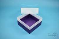EPPi® Box 102 / 1x1 without divider, violet, height 102 mm fix, without ID...