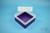 EPPi® Box 102 / 1x1 ohne Facheinteilung, violett, Höhe 102 mm fix, ohne...