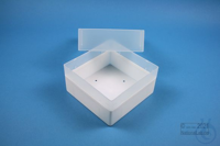 EPPi® Box 102 / 1x1 without divider, white, height 102 mm fix, without ID...