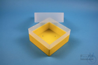 EPPi® Box 102 / 1x1 without divider, yellow, height 102 mm fix, without ID...