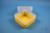 EPPi® Box 102 / 1x1 ohne Facheinteilung, gelb, Höhe 102 mm fix, ohne...