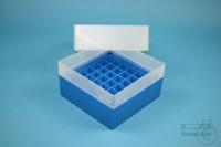 EPPi® Box 102 / 7x7 divider, blue, height 102 mm fix, without ID code, PP....