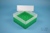 EPPi® Box 102 / 7x7 Fächer, grün, Höhe 102 mm fix, ohne Codierung, PP. EPPi®...