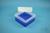 EPPi® Box 102 / 7x7 Fächer, neon-blau, Höhe 102 mm fix, ohne Codierung, PP....