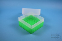 EPPi® Box 102 / 7x7 divider, neon-green, height 102 mm fix, without ID code,...