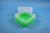 EPPi® Box 102 / 7x7 Fächer, neon-grün, Höhe 102 mm fix, ohne Codierung, PP....