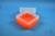 EPPi® Box 102 / 7x7 Fächer, neon-orange, Höhe 102 mm fix, ohne Codierung, PP....