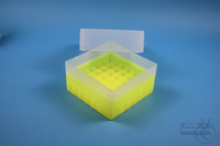 EPPi® Box 102 / 7x7 divider, neon-yellow, height 102 mm fix, without ID code,...