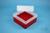 EPPi® Box 102 / 7x7 Fächer, rot, Höhe 102 mm fix, ohne Codierung, PP. EPPi®...