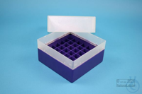 EPPi® Box 102 / 7x7 divider, violet, height 102 mm fix, without ID code, PP....