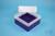 EPPi® Box 102 / 7x7 Fächer, violett, Höhe 102 mm fix, ohne Codierung, PP....