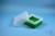 EPPi® Box 102 / 9x9 Fächer, grün, Höhe 102 mm fix, ohne Codierung, PP. EPPi®...