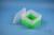 EPPi® Box 105 / 1x1 ohne Facheinteilung, neon-grün, Höhe 105 mm fix, ohne...