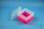 EPPi® Box 105 / 1x1 ohne Facheinteilung, neon-rot/pink, Höhe 105 mm fix, ohne...