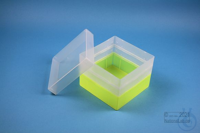 EPPi® Box 105 / 1x1 without divider, neon-yellow, height 105 mm fix, without...