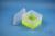 EPPi® Box 105 / 1x1 ohne Facheinteilung, neon-gelb, Höhe 105 mm fix, ohne...