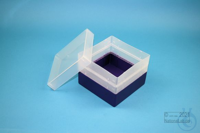 EPPi® Box 105 / 1x1 without divider, violet, height 105 mm fix, without ID...