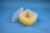 EPPi® Box 105 / 1x1 ohne Facheinteilung, gelb, Höhe 105 mm fix, ohne...