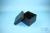 EPPi® Box 105 / 7x7 Fächer, black/black, Höhe 105 mm fix, ohne Codierung, PP....