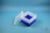 EPPi® Box 105 / 7x7 Fächer, neon-blau, Höhe 105 mm fix, ohne Codierung, PP....