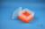 EPPi® Box 105 / 7x7 Fächer, neon-orange, Höhe 105 mm fix, ohne Codierung, PP....