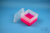 EPPi® Box 105 / 7x7 Fächer, neon-rot/pink, Höhe 105 mm fix, ohne Codierung,...