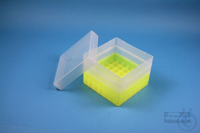 EPPi® Box 105 / 7x7 divider, neon-yellow, height 105 mm fix, without ID code,...