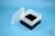 EPPi® Box 105 / 9x9 Fächer, schwarz, Höhe 105 mm fix, ohne Codierung, PP....