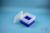 EPPi® Box 105 / 9x9 Fächer, neon-blau, Höhe 105 mm fix, ohne Codierung, PP....