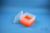 EPPi® Box 105 / 9x9 Fächer, neon-orange, Höhe 105 mm fix, ohne Codierung, PP....