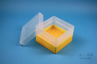 EPPi® Box 105 / 9x9 divider, yellow, height 105 mm fix, without ID code, PP....