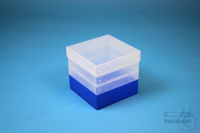 EPPi® Box 121 / 1x1 without divider, neon-blue, height 121-131 mm variable,...
