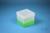 EPPi® Box 121 / 1x1 ohne Facheinteilung, neon-grün, Höhe 121-131 mm variabel,...
