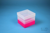 EPPi® Box 121 / 1x1 ohne Facheinteilung, neon-rot/pink, Höhe 121-131 mm...