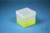EPPi® Box 121 / 1x1 ohne Facheinteilung, neon-gelb, Höhe 121-131 mm variabel,...