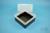 EPPi® Box 122 / 1x1 ohne Facheinteilung, schwarz, Höhe 122 mm fix, ohne...