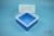 EPPi® Box 122 / 1x1 ohne Facheinteilung, blau, Höhe 122 mm fix, ohne...