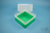EPPi® Box 122 / 1x1 ohne Facheinteilung, grün, Höhe 122 mm fix, ohne...