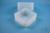 EPPi® Box 122 / 1x1 ohne Facheinteilung, transparent, Höhe 122 mm fix, ohne...