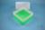 EPPi® Box 122 / 1x1 ohne Facheinteilung, neon-grün, Höhe 122 mm fix, ohne...