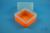 EPPi® Box 122 / 1x1 ohne Facheinteilung, neon-orange, Höhe 122 mm fix, ohne...