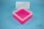 EPPi® Box 122 / 1x1 ohne Facheinteilung, neon-rot/pink, Höhe 122 mm fix, ohne...