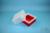 EPPi® Box 122 / 1x1 ohne Facheinteilung, rot, Höhe 122 mm fix, ohne...