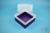 EPPi® Box 122 / 1x1 ohne Facheinteilung, violett, Höhe 122 mm fix, ohne...