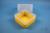 EPPi® Box 122 / 1x1 ohne Facheinteilung, gelb, Höhe 122 mm fix, ohne...